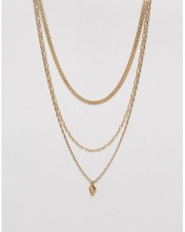Vintage Style Chain Multirow Necklace