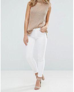 White Super Snug Skinny Jeans
