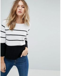 Matilda Knit Stripe Sweater