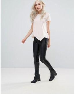 Street Pu Skinny Pants