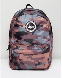 Backpack In Camo Reversible