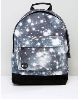 Backpack With Galaxy Print