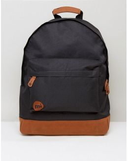 Classic Backpack In Black Contrast
