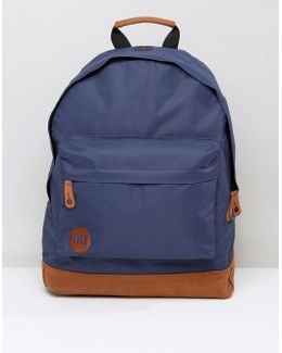 Classic Backpack In Navy Contrast