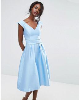 Premium Midi Skater Dress