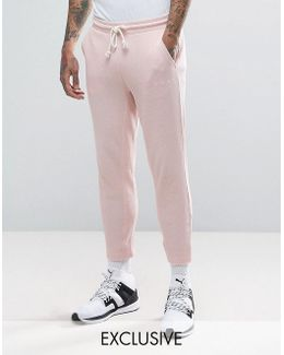 Waffle Joggers In Pink Exclusive To Asos