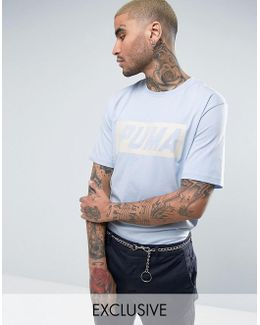 Vintage Speed T-shirt In Blue Exclusive To Asos