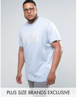 Plus Vintage Speed T-shirt In Blue Exclusive To Asos