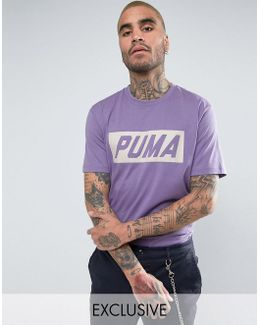 Vintage Speed T-shirt In Purple Exclusive To Asos