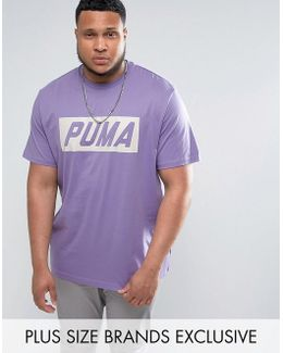 Plus Vintage Speed T-shirt In Purple Exclusive To Asos