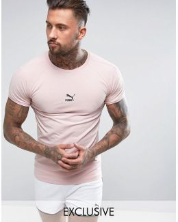 Muscle Fit T-shirt In Pink Exclusive To Asos