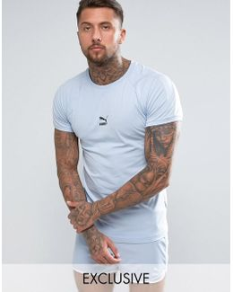 Muscle Fit T-shirt In Blue Exclusive To Asos