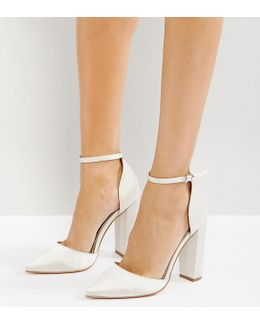 Penalty Bridal Pointed High Heels