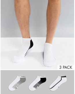 Performance Trainer Sock In 3 Pack With Coolpass