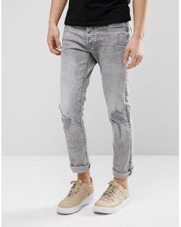 3301 Slim Jeans Light Aged Restored 149 Wash