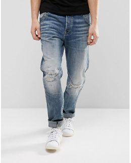 Arc 3d Tapered Jeans Medium Aged Restored 156 Wash