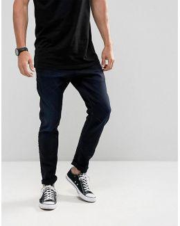 D-staq 3d Super Slim Jeans Dark Aged Wash