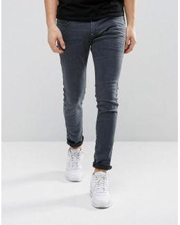 Revend Super Slim Jeans Overdye Blue