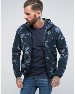 Strett Hooded Gym Bag Jacket
