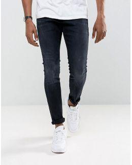 Revend Super Slim Jeans Rink Denim Dk Aged