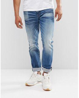 3301 Tapered Higa Jeans Dark Aged