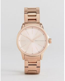 Rose Gold Lady Banks Watch