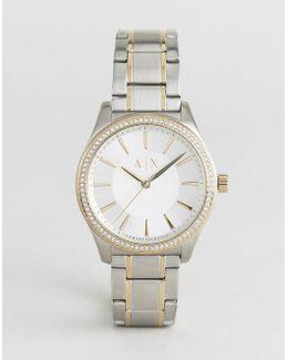Silver Nicolette Watch