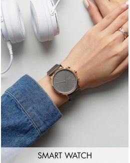 Rose Gold Hald Smart Watch