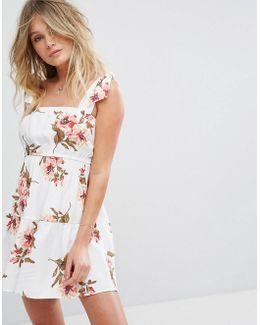 Maria Mini Floral Dress
