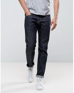 Ed-55 Regular Tapered Jeans Rinse Wash
