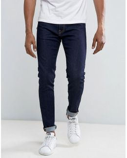 Ed-85 Slim Tapered Drop Crotch Jeans Rinse