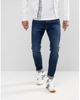 Ed-85 Slim Tapered Drop Crotch Jeans Solstice Wash