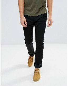Ed-90 Skinny Straight Jeans Rinse Wash