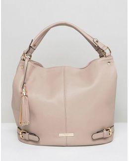 Smooth Slouchy Shoulder Bag