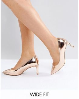 Soulful Wide Fit Pointed Heels