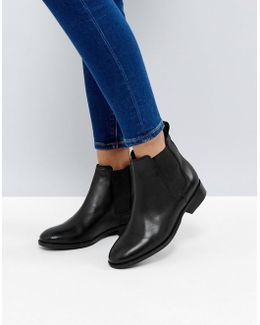 Bramble Leather Chelsea Ankle Boots