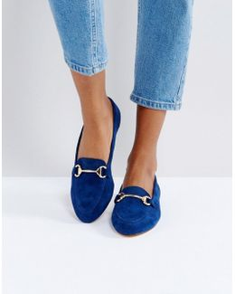 Fast Lane Suede Loafer Shoes