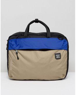 . Britannia Laptop Bag In Black