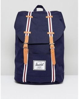 . Retreat Backpack In Navy 19.5l