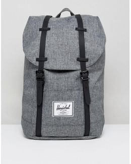 . Retreat Backpack In Crosshatch 19.5l