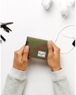 . Roy Bi-fold & Coin Wallet With Rfid In Camo