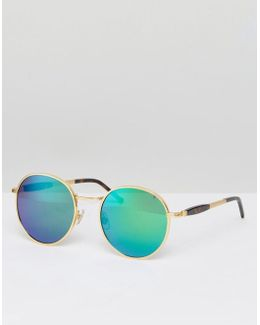 Dakota Deluxe Mirror Lens Sunglasses