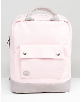 Tote Backpack In Blush Pink