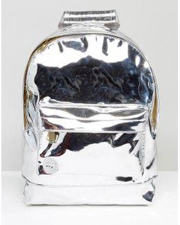 Silver Mirror Mini Classic Backpack