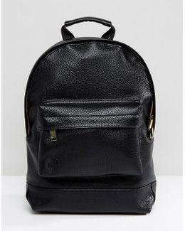 Black Tumbled Mini Classic Backpack