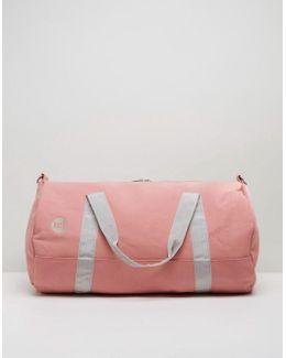 Canvas Carryall In Rose Canvas