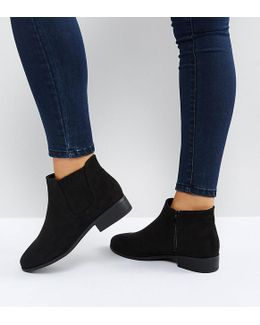 Lead In Suedette Ankle Boot
