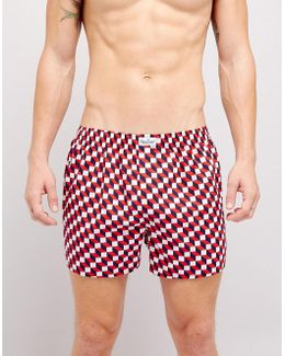 Woven Boxers Filled Optic Print