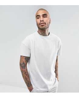 Towelling T-shirt In Grey Exclusive To Asos 57533305