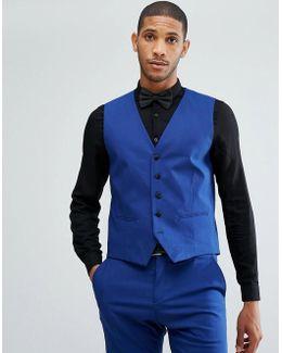 Skinny Tuxedo Waistcoat